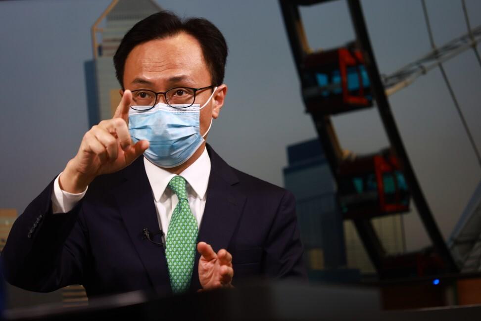 Patrick Nip, Hong Kong's civil service chief. Photo: May Tse
