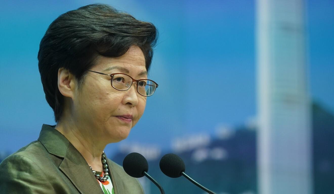 Chief Executive Carrie Lam. Photo: Sam Tsang