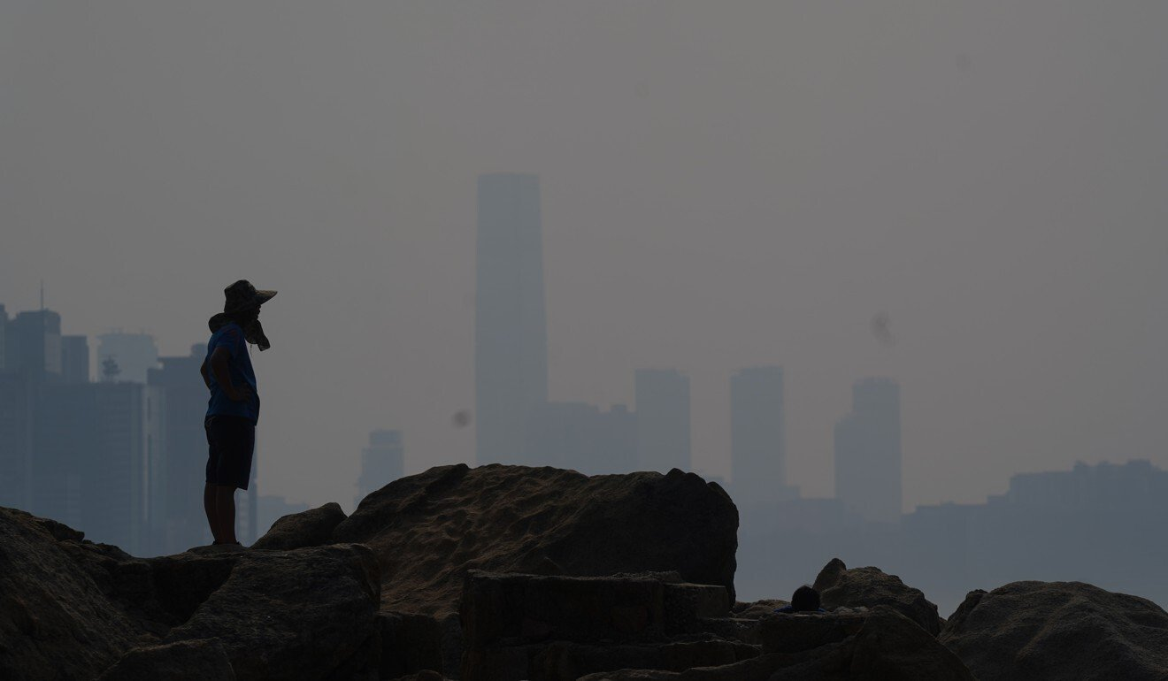 The app has features to help users assess health risks from exposure to pollutants. Photo: Sam Tsang