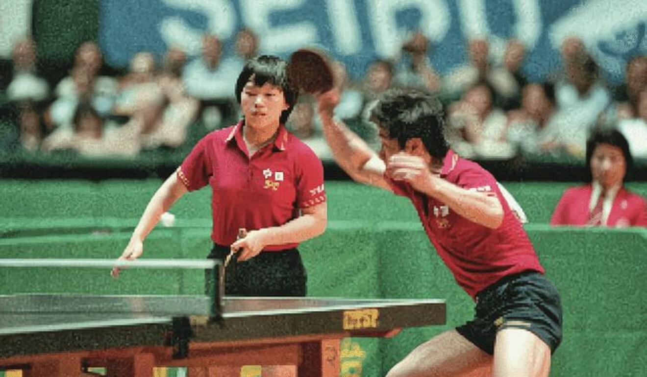As Ni's profile grew, people discovered that she had competed at a high level for the Chinese table tennis team decades ago. Photo: 163.com
