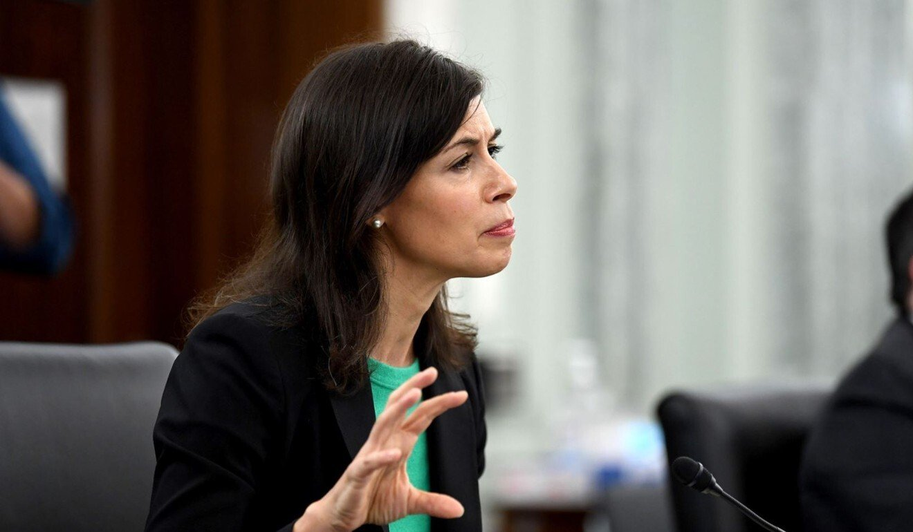 """The acting Federal Communications Commission chairwoman Jessica Rosenworcel said the Senate legislation would """"help keep the country safe"""". Photo: AFP – Getty Images"""