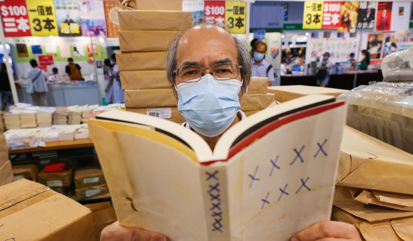 Veteran China watcher Johnny Lau at this year's book fair. Photo: Dickson Lee