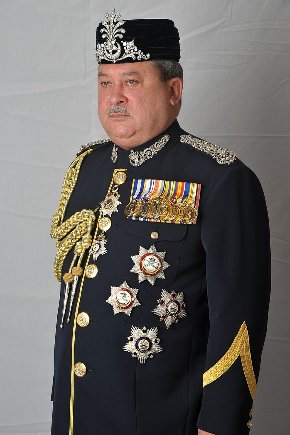 The Sultan of Johor. Photo: Internet