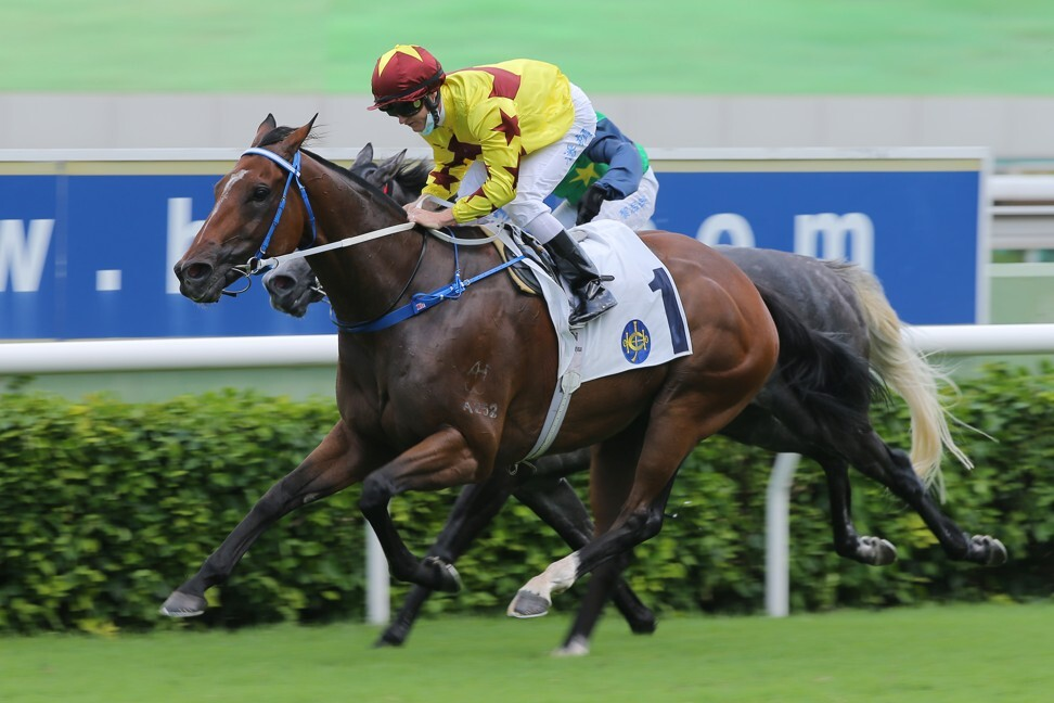 Southern Legend wins at Sha Tin in June.