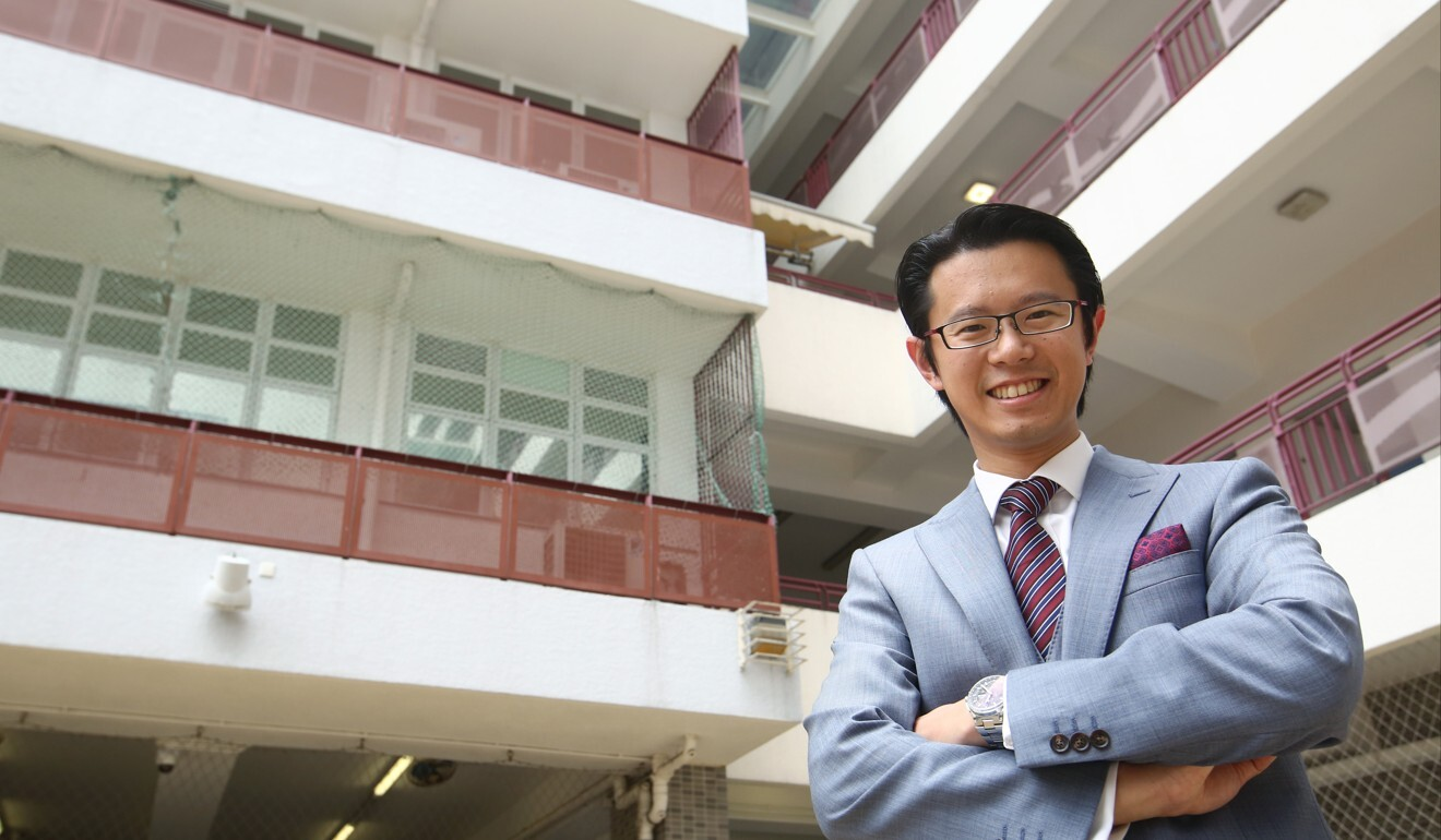 Dion Chen, chairman of the Hong Kong Direct Subsidy Scheme Schools Council. Photo: Edmond So