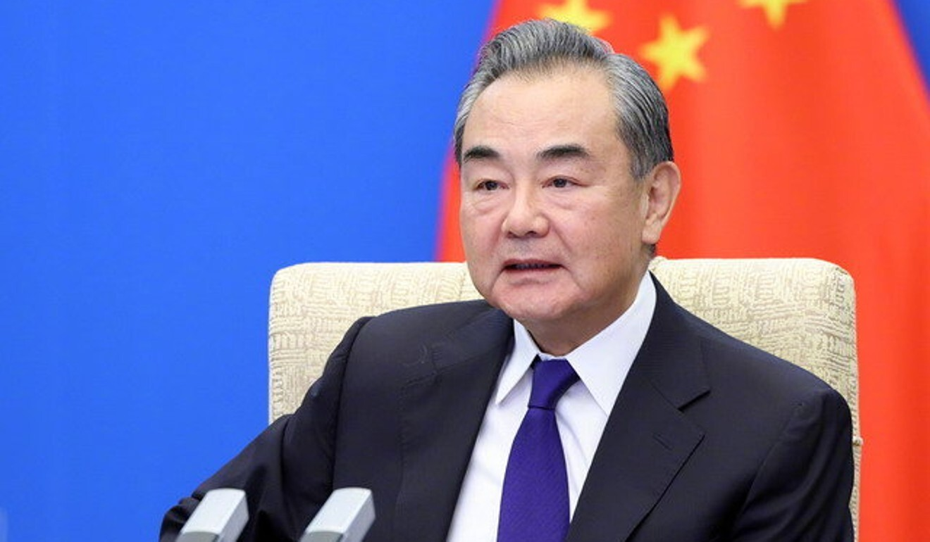 """Foreign Minister Wang Yi said economic sanctions on Afghanistan """"must end"""". Photo: Handout"""
