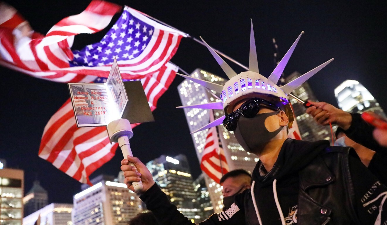 Friday's foreign ministry 'fact sheet' catalogued more than 100 ways Beijing believes the US has interfered in Hong Kong affairs. Photo: K. Y. Cheng