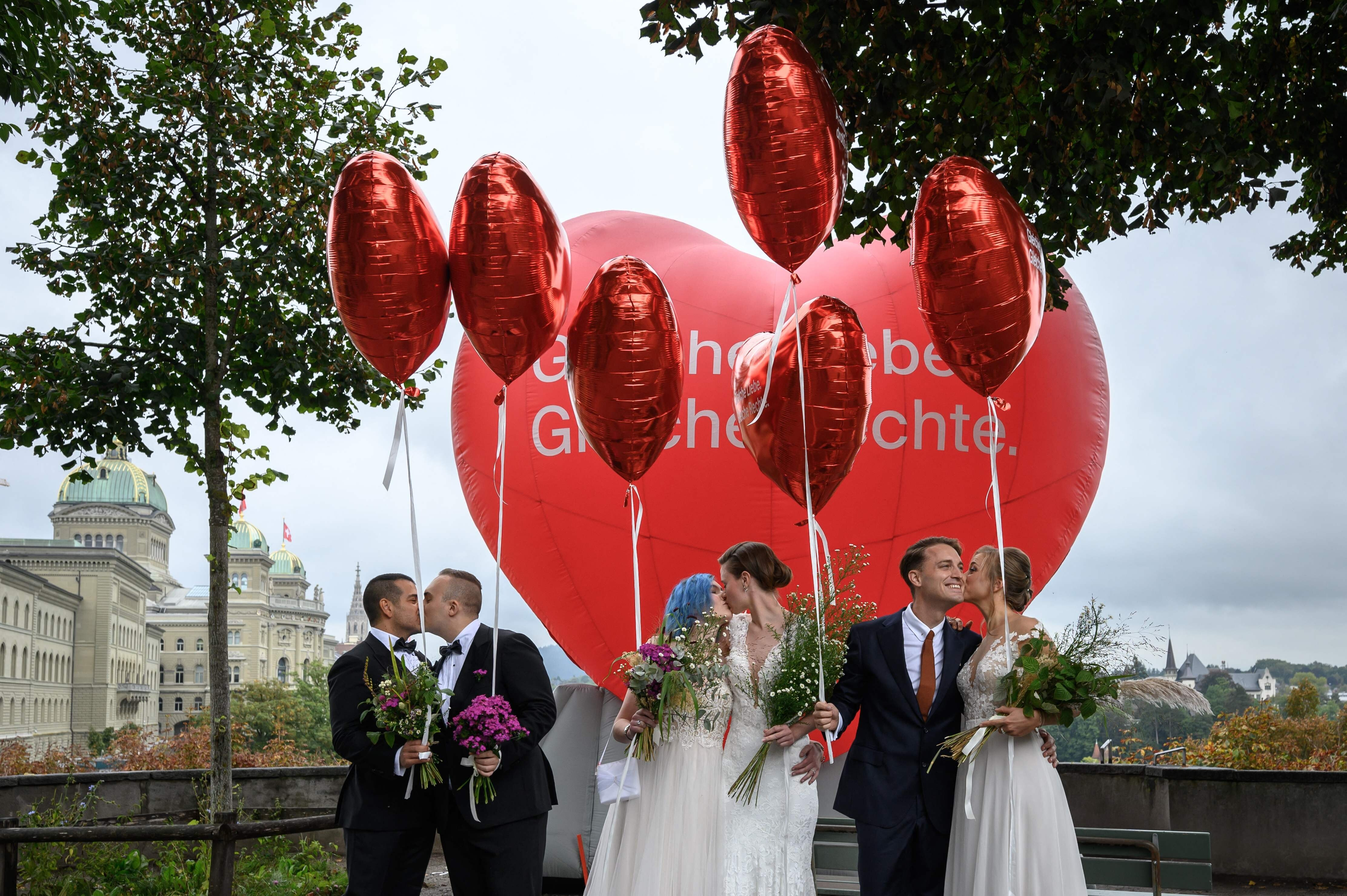 Switzerland votes to make same-sex marriage legal by near two-thirds  majority | South China Morning Post
