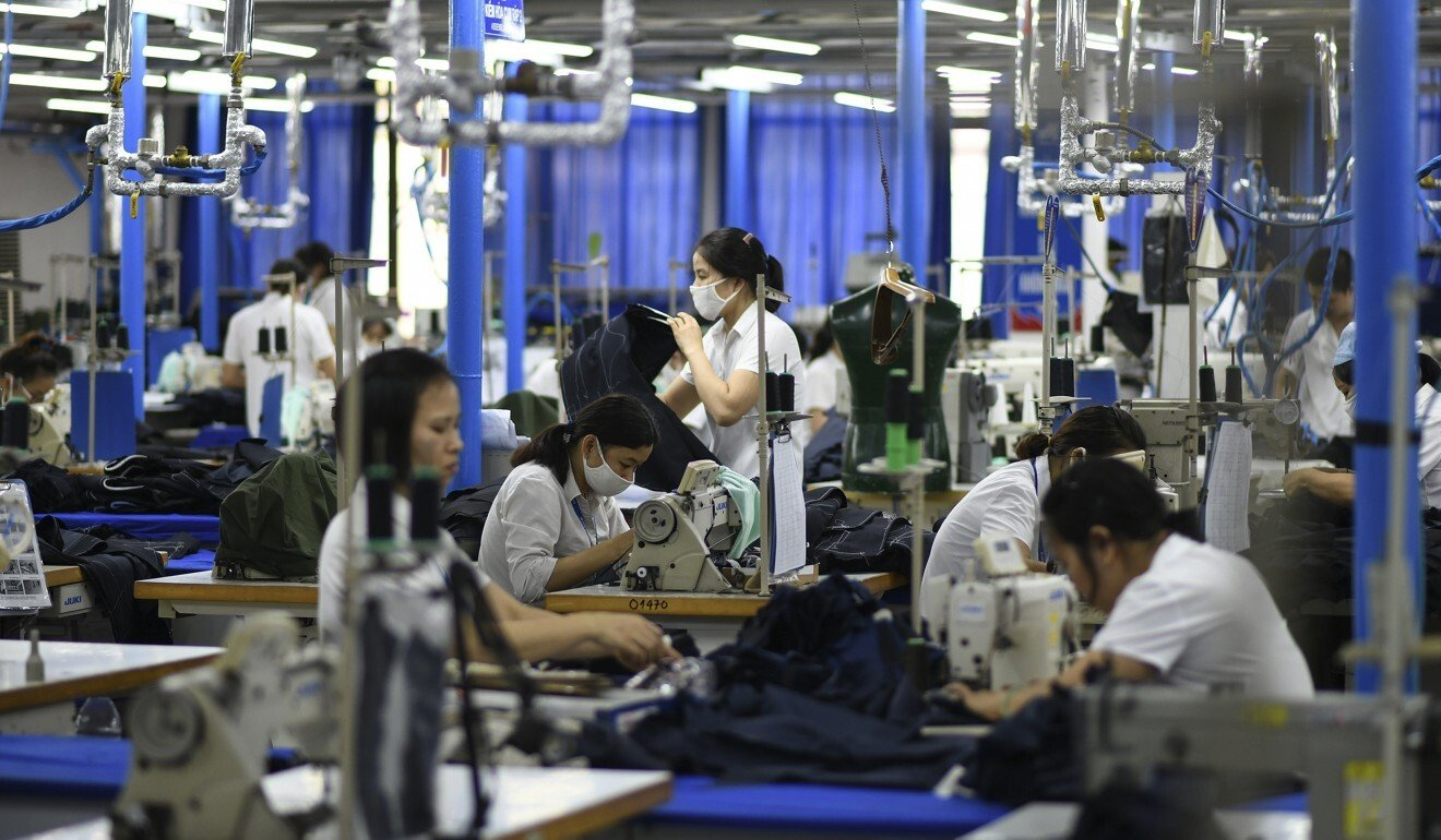 """The Vietnam Textile and Apparel Association says the last three months of this year will be an """"extremely difficult time"""" for the apparel sector. Photo: AFP"""