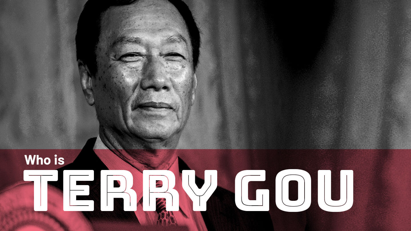 Terry Gou, the man who built the manufacturing empire for iPhones and Kindles