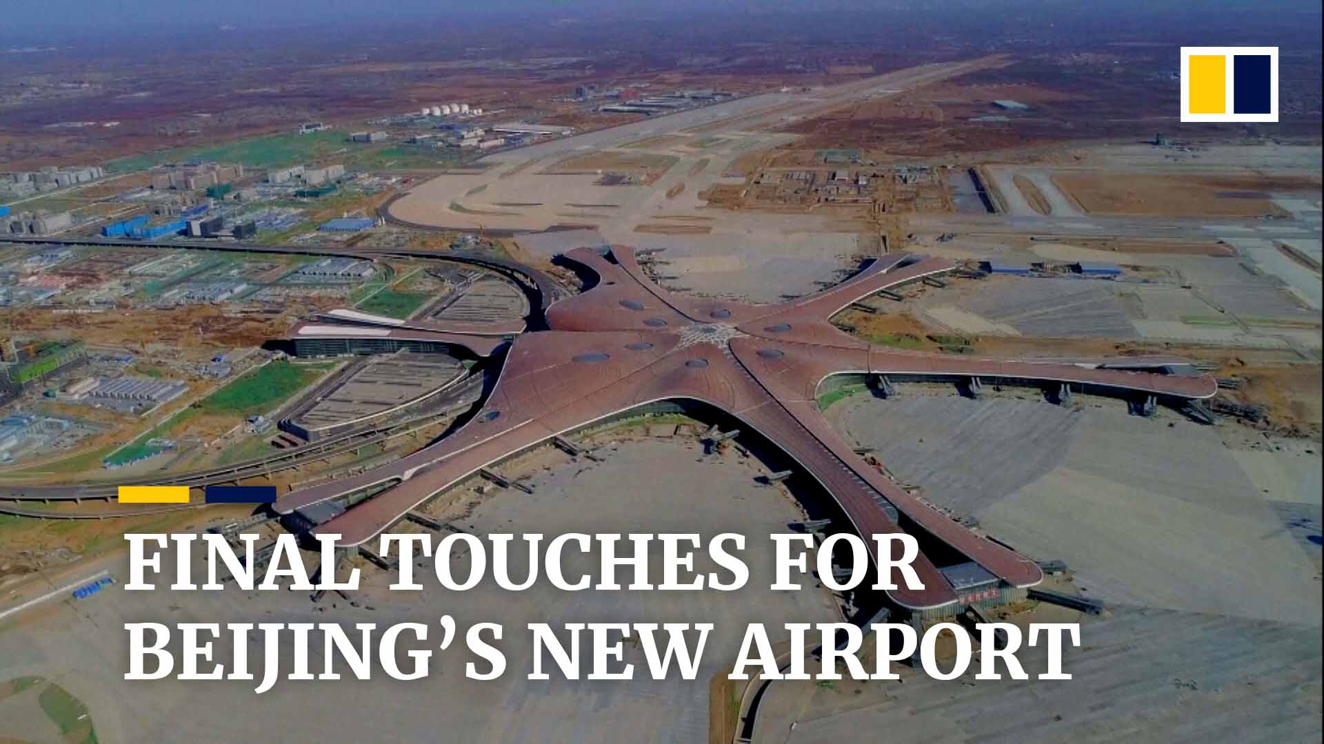 China's airlines jostle for position at new mega airport, in