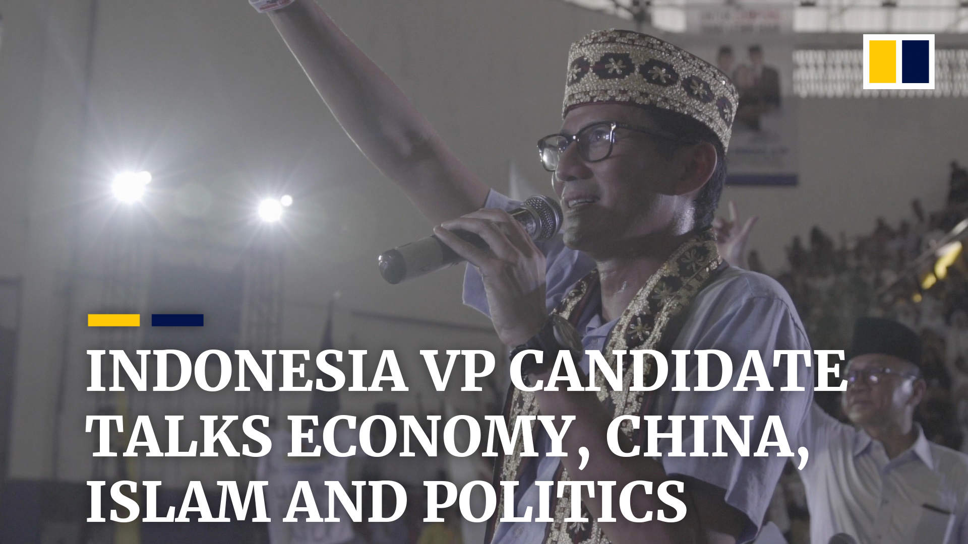 Indonesia election 'not about religion', says Sandiaga Uno