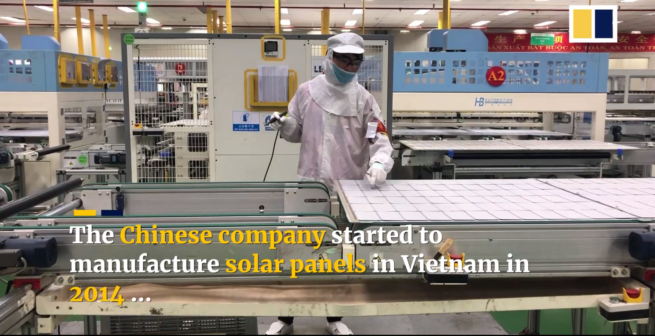 Vietnam company finding a silver lining to US-China trade war, due