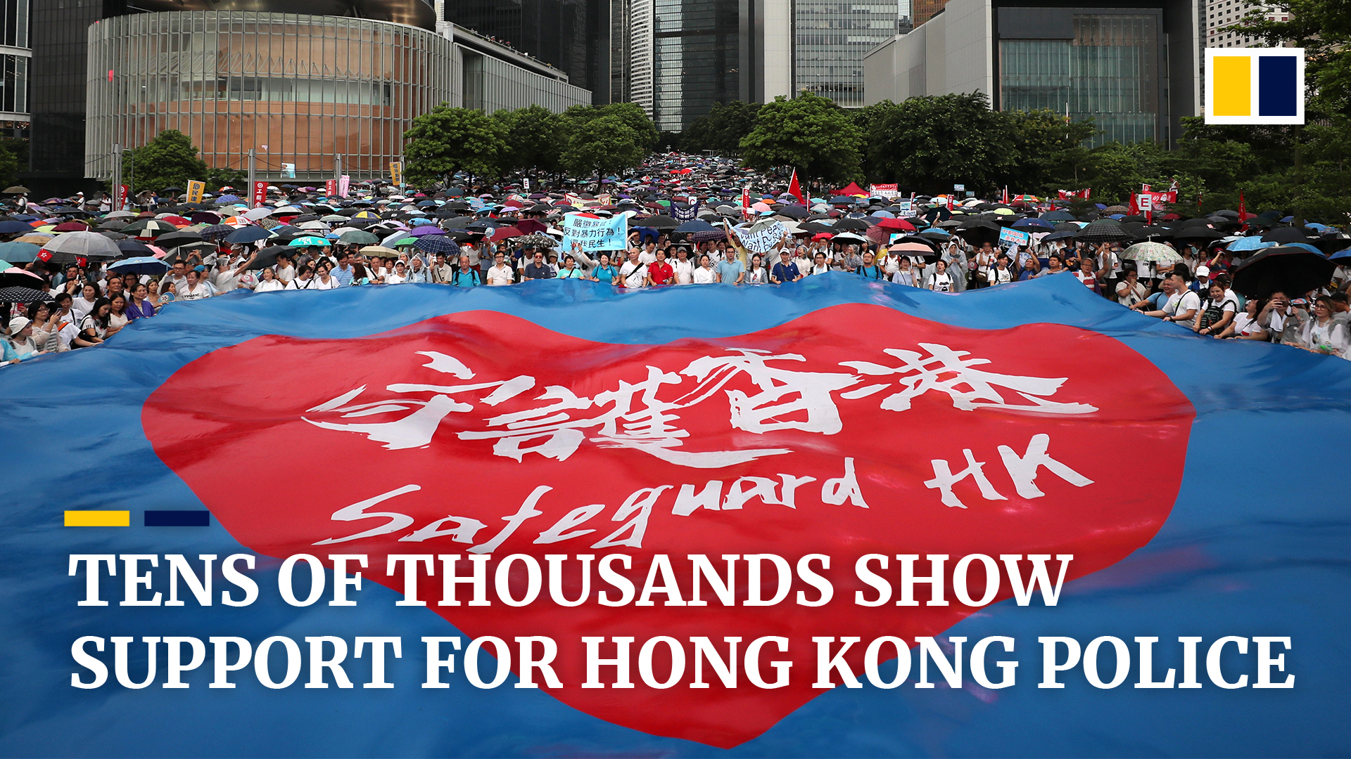 e9f8c909dee Hong Kong pro-police rally attracts hundreds of thousands calling ...