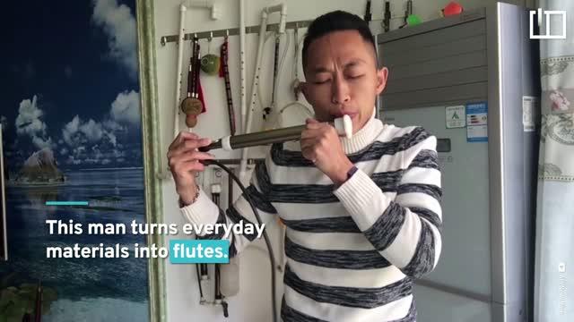 The DIY flutist