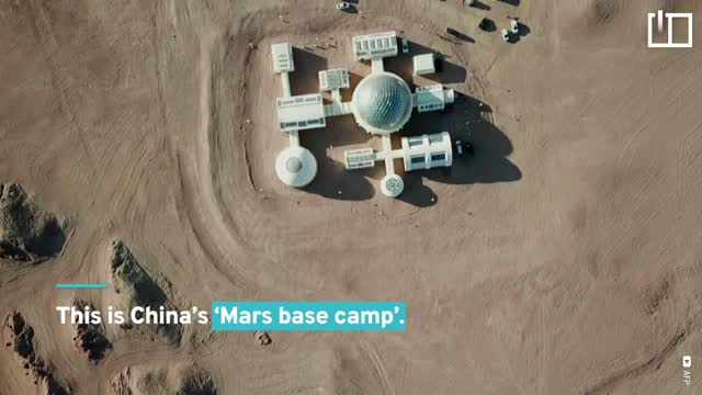 China sets up a camp in the Gobi Desert to simulate life on Mars