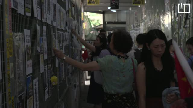 Street brawls break out in Hong Kong as political strife deepens