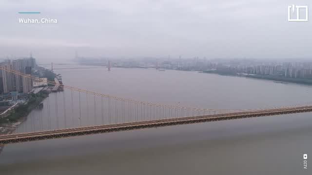 World's longest double-deck suspension bridge opens in China