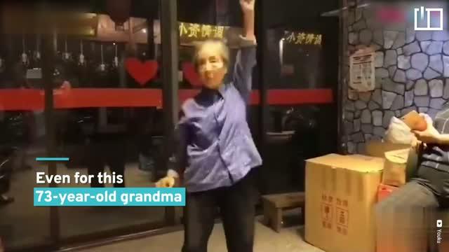 Forever 73: Chinese grandma's got moves