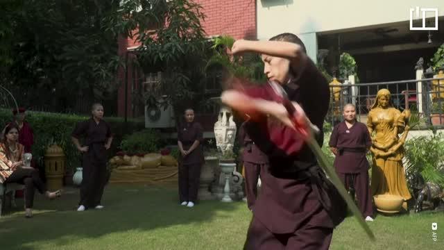 Kung fu nuns break stereotypes