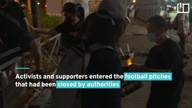 Hongkongers defy ban to mark Tiananmen crackdown