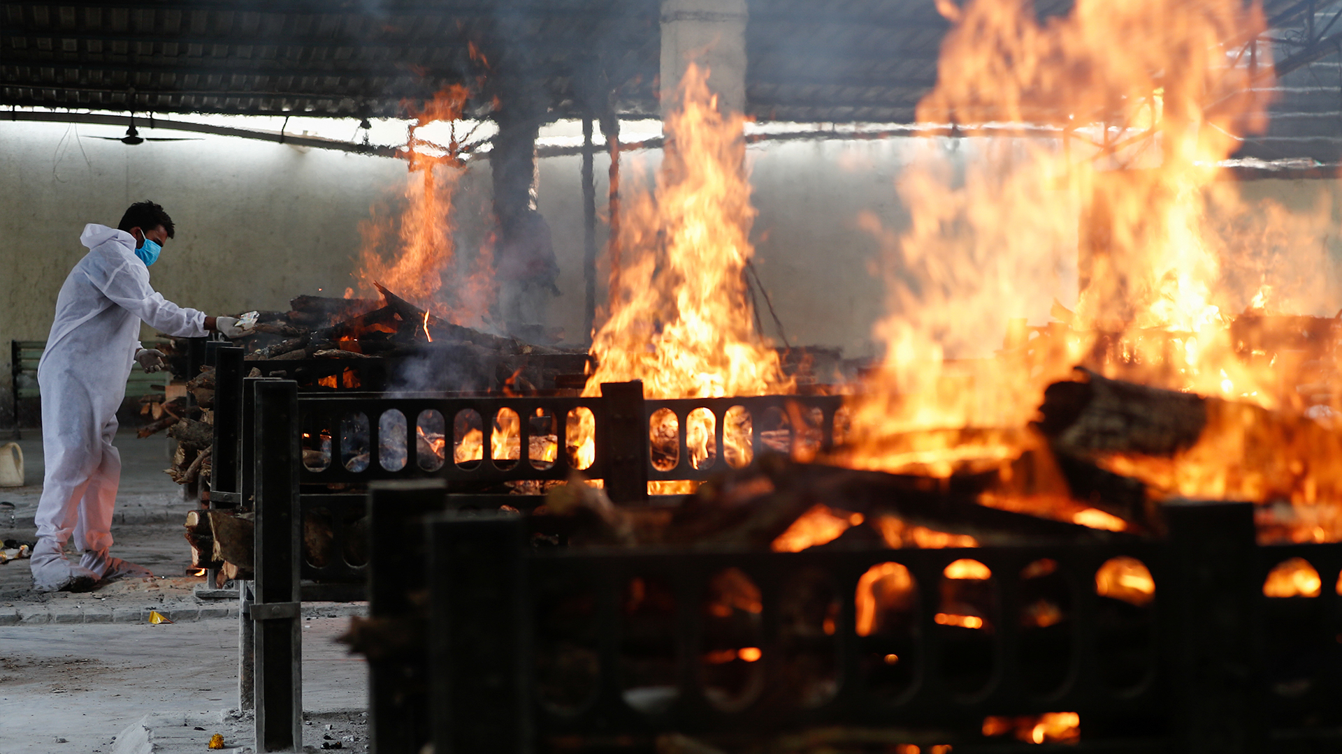 At least 13 killed in Indian hospital fire as country gripped by new  coronavirus variant   South China Morning Post