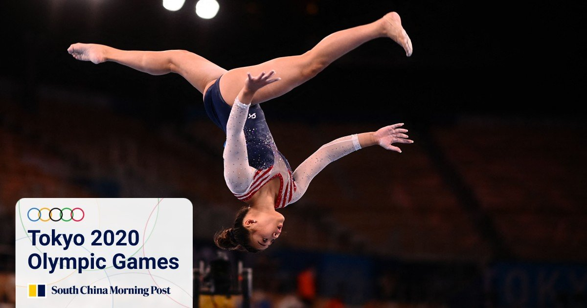 www.scmp.com: Tokyo Olympics: Asian-American gymnast Sunisa Lee wins gold medal in women's all-around event