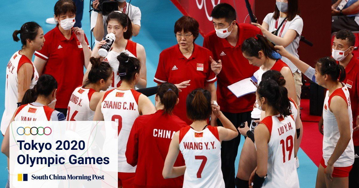 Reigning Olympic volleyball champions China crash out