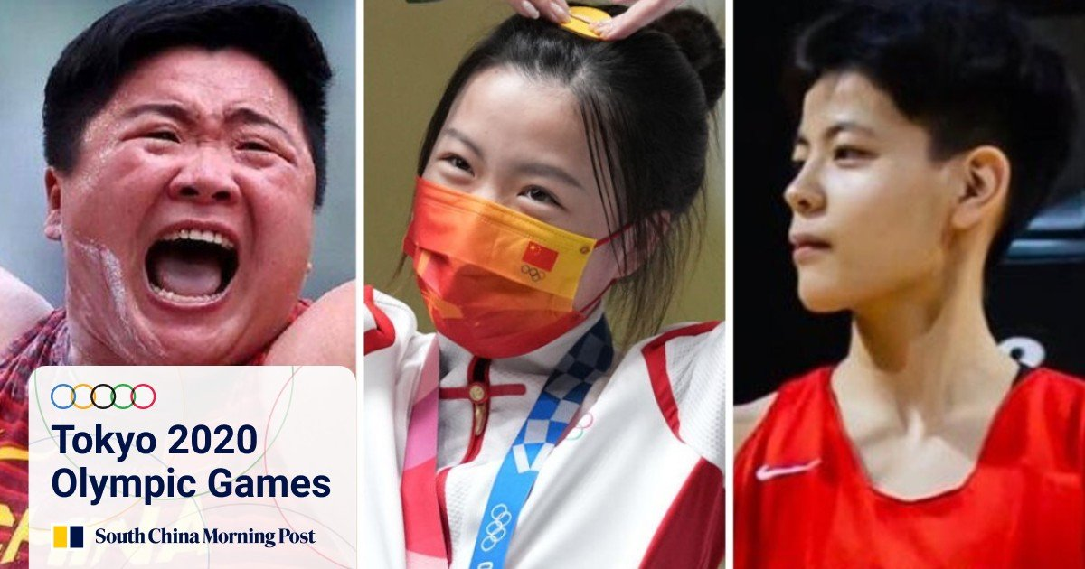 Chinese women Olympic athletes' success challenges China's beauty standards