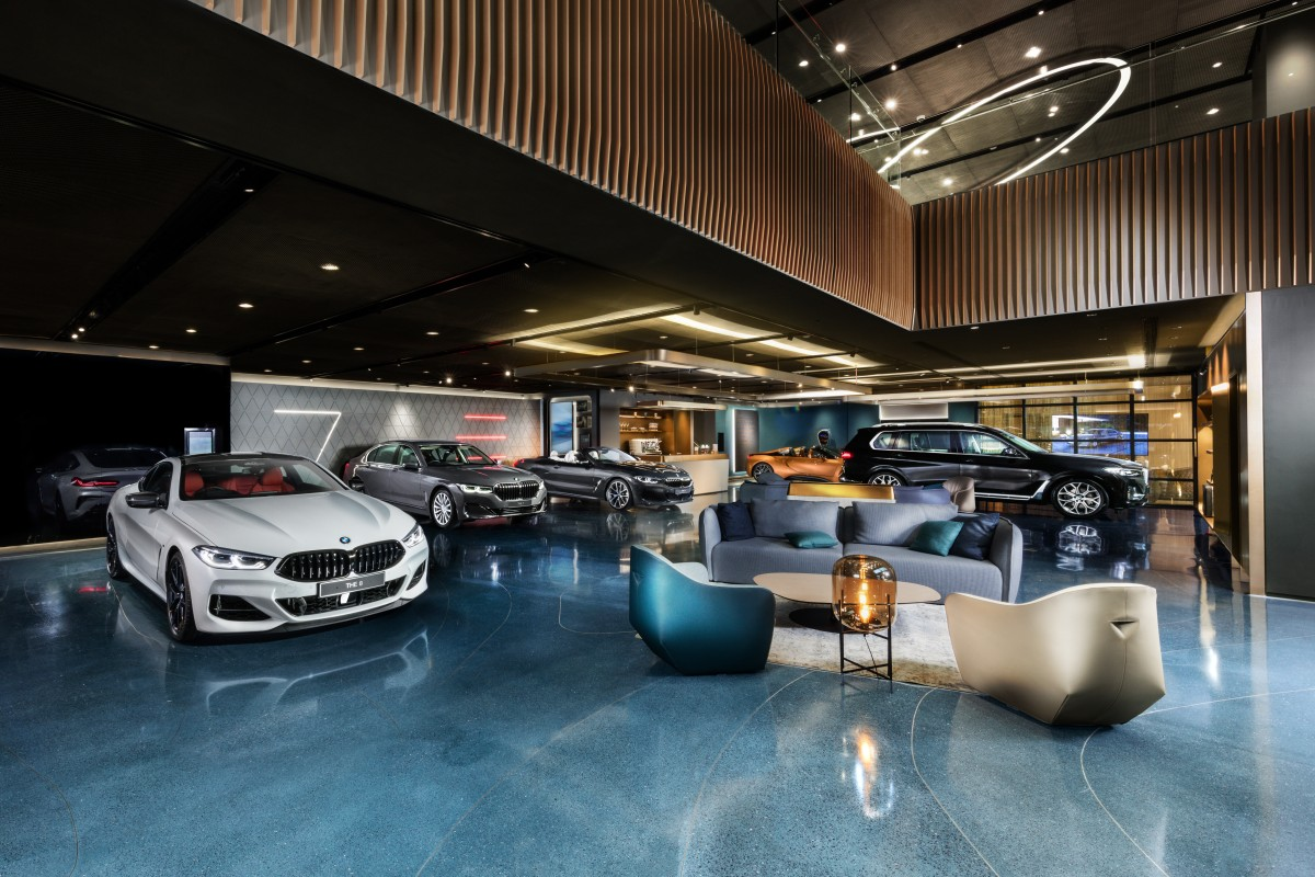 Bmw S New Flagship Showroom For Luxury Cars A Meticulously Curated Experience South China Morning Post