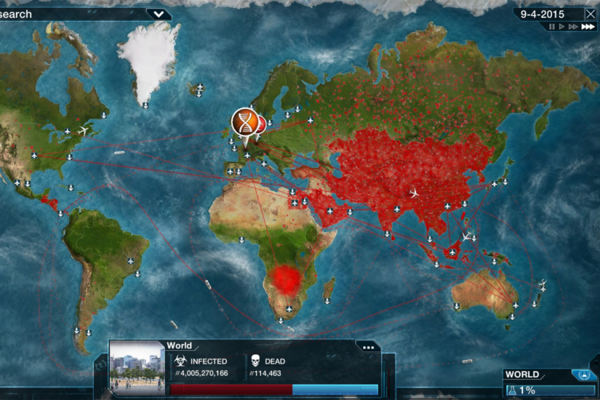 Image of: Plague Inc Is Fun But It S Not An Accurate Model For The China Coronavirus Outbreak South China Morning Post