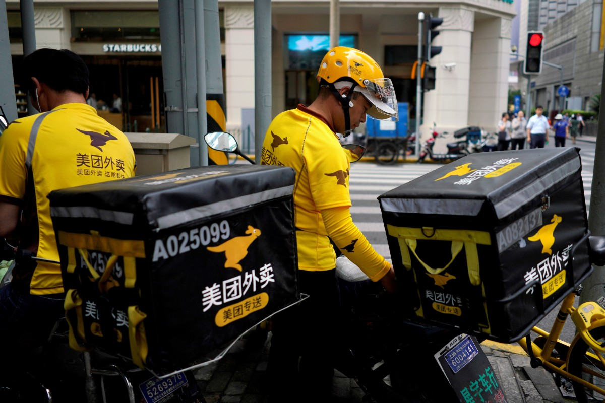 As grocery stores empty out, food delivery is very important to those who are stuck at home. (Picture: Reuters)