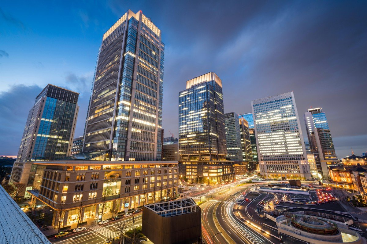 eb0afb7f6 Tokyo s Marunouchi business district. Japan s capital city ranks as the top  destination for bleisure travel