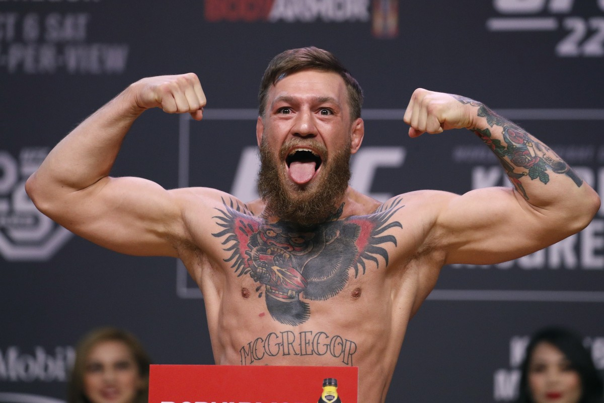 Conor McGregor charged with criminal mischief and strong-armed