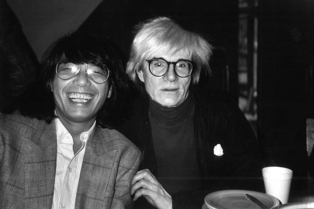 4df0c3f6 Kenzo Takada with Andy Warhol in the '70s. The Japanese fashion legend's  new book