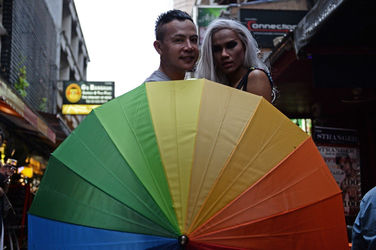Lesbian and gay travellers thailand