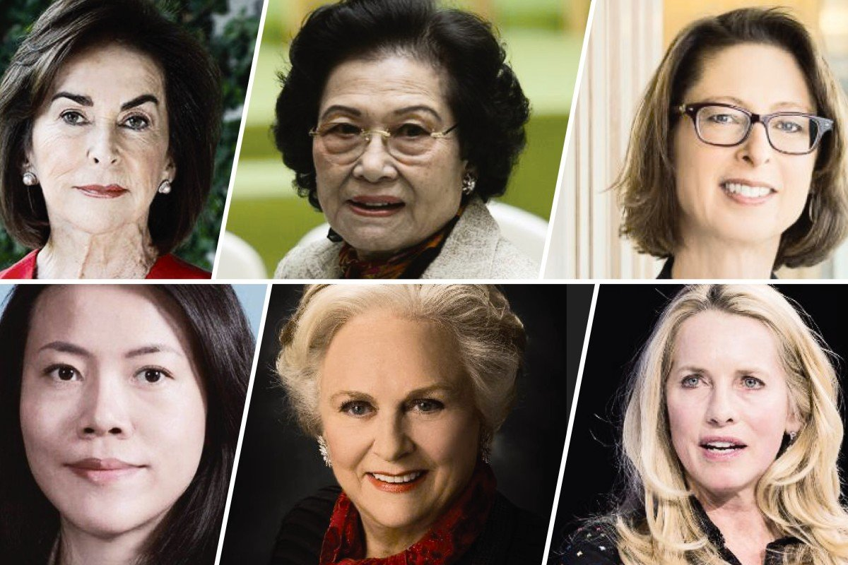 b4267d6581b Who made the Forbes richest female billionaire list