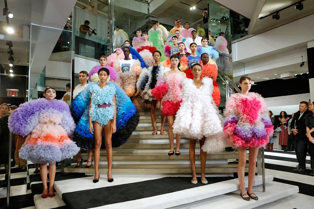127a621aa3ec9 Tomo Koizumi's collection charmed even the most jaded fashion fans at New  York Fashion Week,