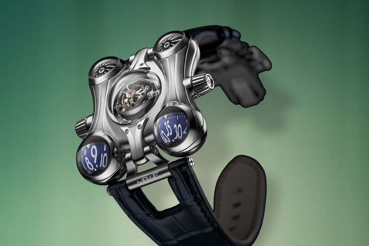 f0ee0a282ef1 The last model by Maximilian Büsser & Friends (MB&F) in its Horological  Machine No