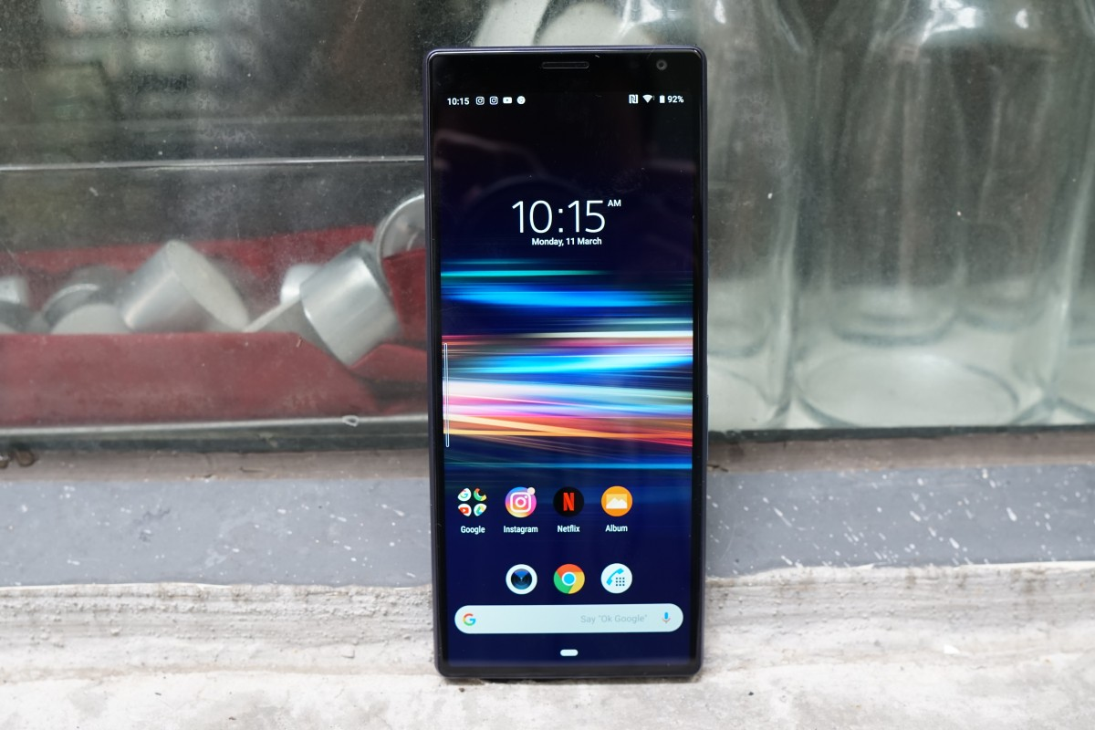 763dccce091 Sony s Xperia 10 Plus has a 6.5-inch display with an unusually long aspect  ratio