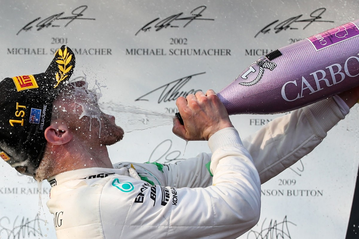 Australian Grand Prix: Valtteri Bottas beats Mercedes