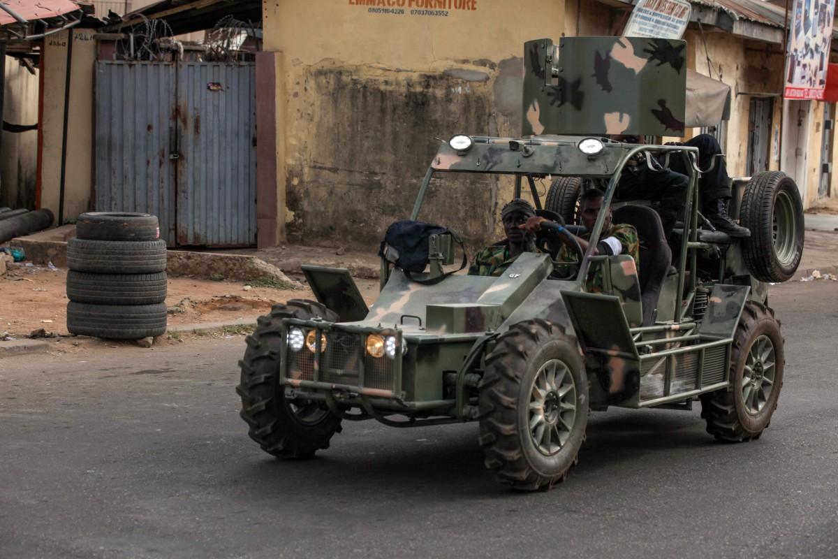 Nine killed, including children, in brutal attack by gunmen