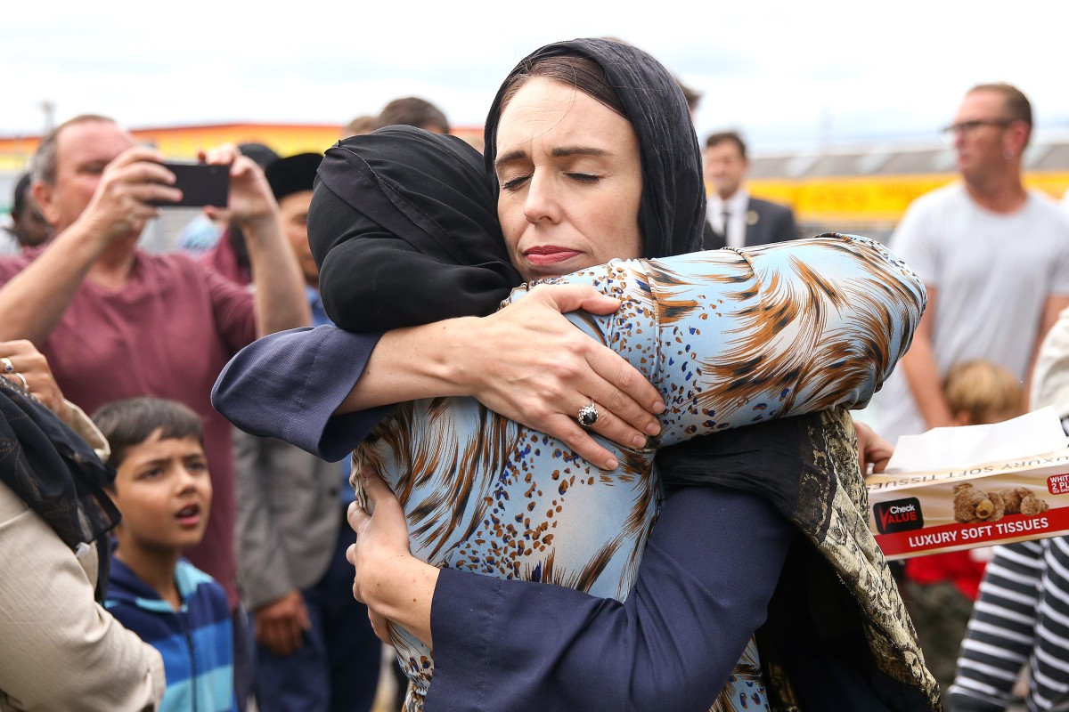 Image result for new zealand shooting prime minister
