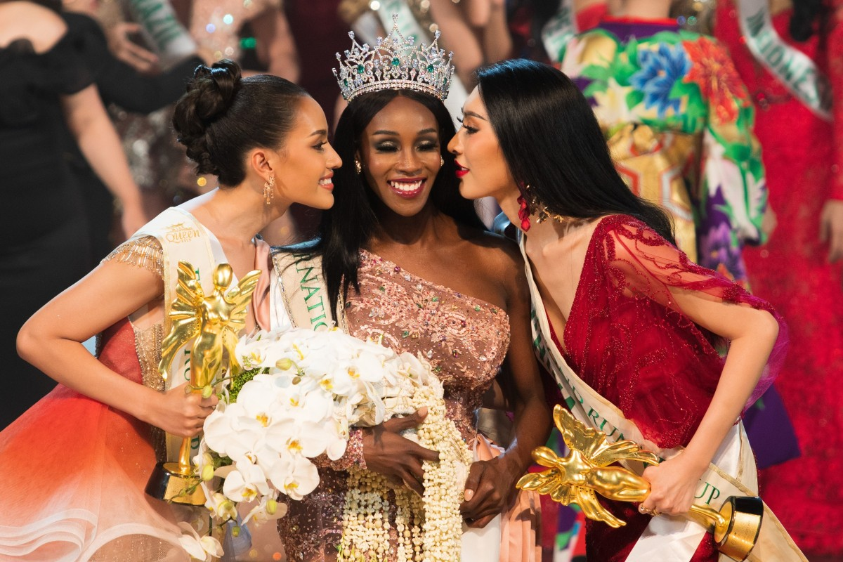 First black queen at Thailand's transgender pageant — China came third