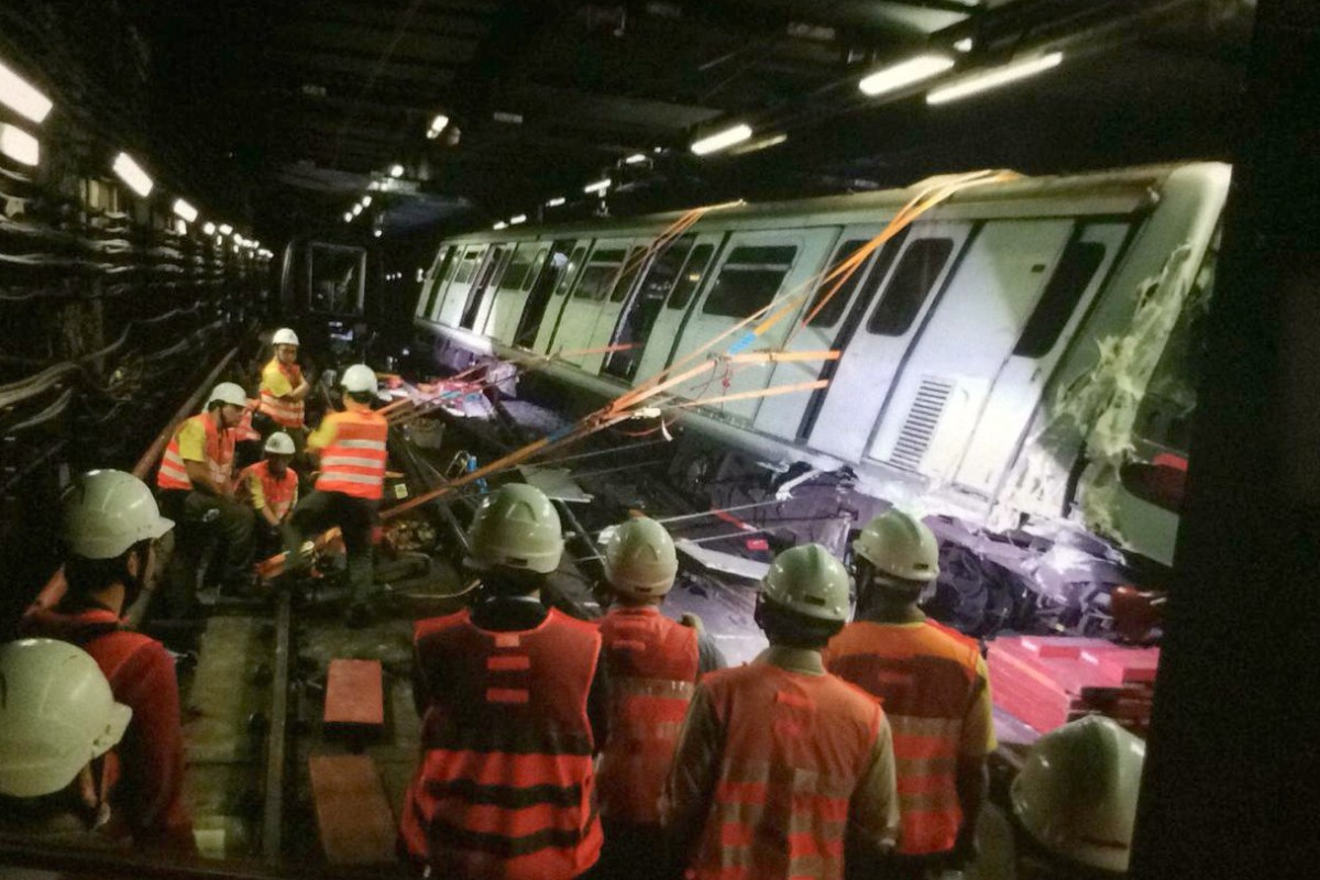 No rush to roll out crash-linked signal system on MTR,' Hong