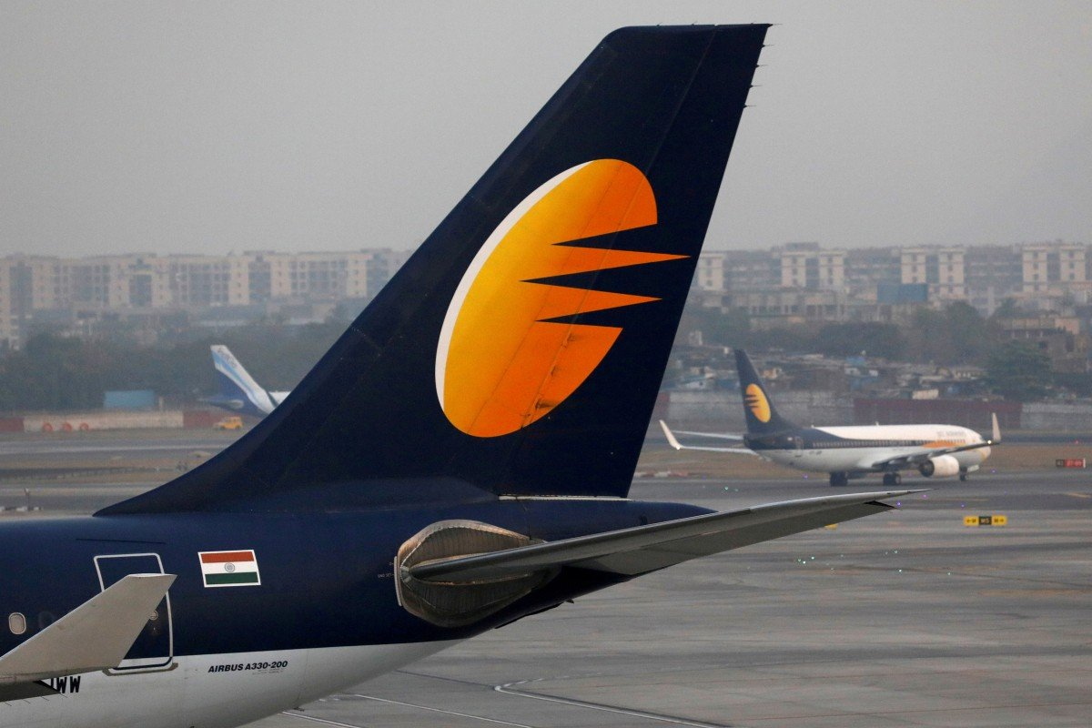 Crisis at Indian airline Jet Airways worsens as government steps in and pilots threaten strike