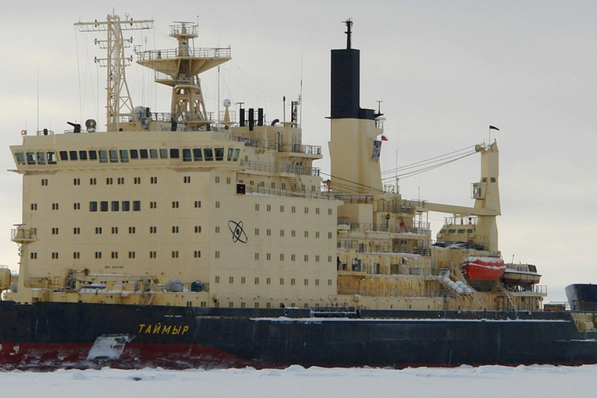 e5297e04ffc Russia's Taymyr-class icebreaker has similar dimensions to China's proposed  ship. Photo: Handout