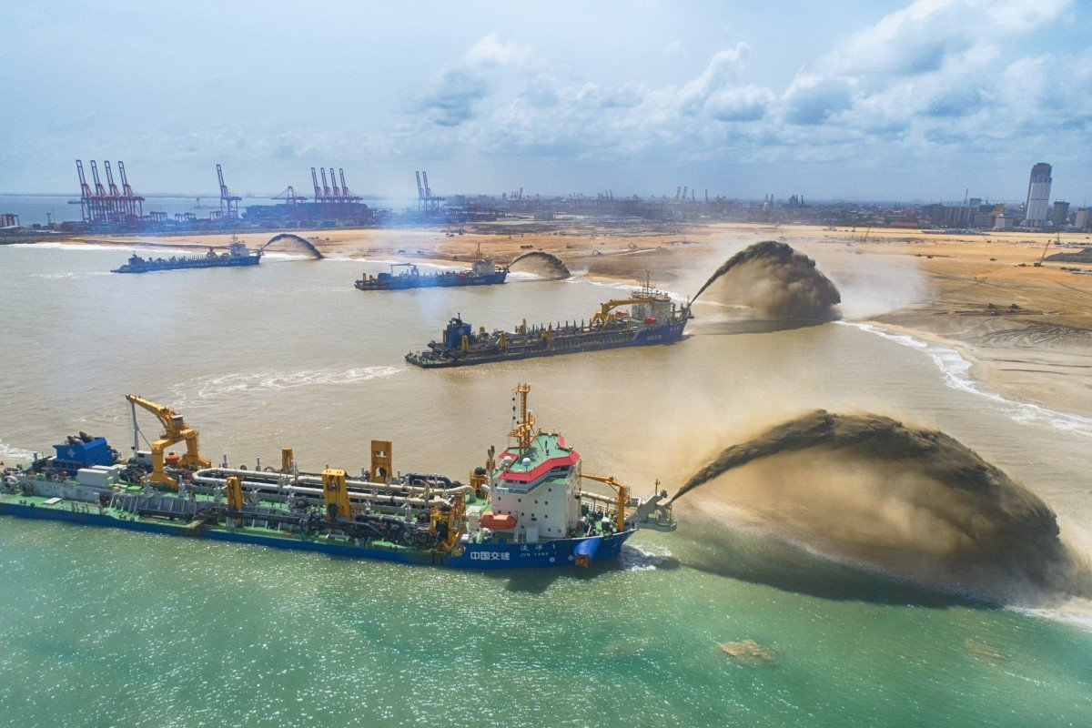 Sri Lanka to get US$3.9 billion oil refinery next to Chinese-run port in Colombo