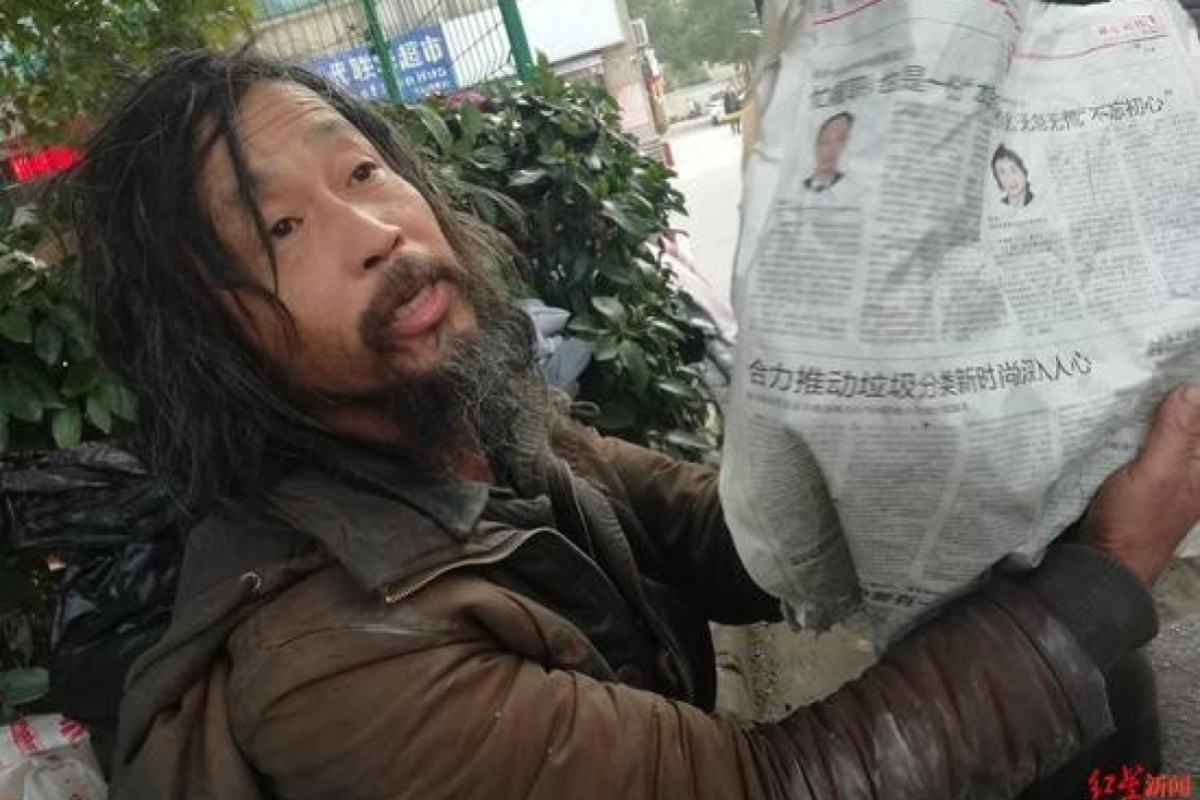 Confucius-quoting Shanghai tramp becomes online celebrity ... then tells well-wishers to go away and read more books