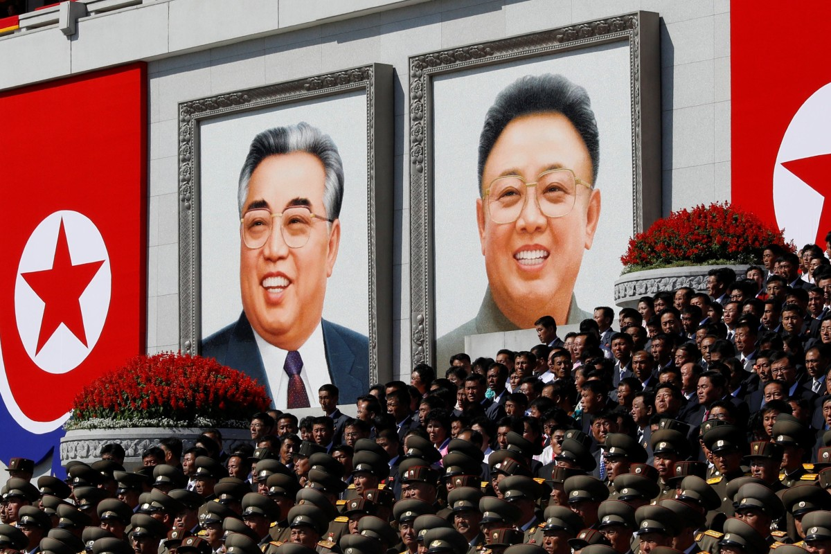 North Korean Dissident Smashes Portraits Of Kim Il Sung And Kim Jong Il In Viral Video South China Morning Post